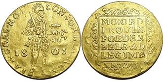 Дукат 1801 года