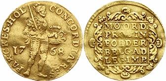 Дукат 1768 года
