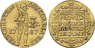 Дукат 1787 года