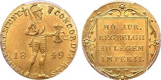Дукат 1849 года