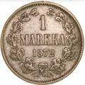 1 марка 1872 года, фото 2