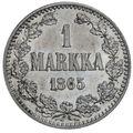 1 марка 1865 года, фото 2