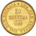 20 марок 1881 года, фото 2