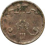 1 пенни 1882 года Медь, фото 1