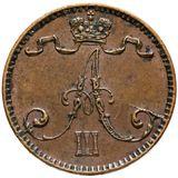 1 пенни 1893 года Медь, фото 1