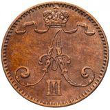 1 пенни 1892 года Медь, фото 1