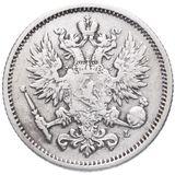 50 пенни 1890 года Серебро, фото 1