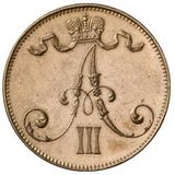 5 пенни 1889 года Медь, фото 1