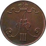 5 пенни 1888 года Медь, фото 1