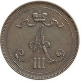 10 пенни 1891 года Медь, фото 1