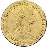 Червонец 1762, золото (Au 978) — Петр III, фото 1