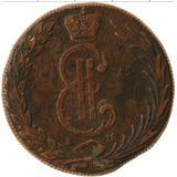 10 копеек 1769, медь | Сибирь — Екатерина II, фото 1