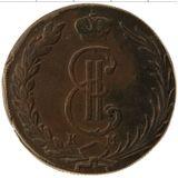 10 копеек 1772, медь | Сибирь — Екатерина II, фото 1