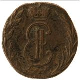 Денга 1769, медь | Сибирь — Екатерина II, фото 1