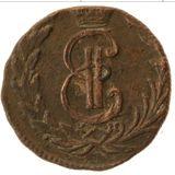 Денга 1771, медь | Сибирь — Екатерина II, фото 1
