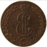 10 копеек 1777, медь | Сибирь — Екатерина II, фото 1