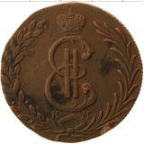 10 копеек 1778, медь | Сибирь — Екатерина II, фото 1