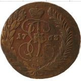 2 копейки 1763, медь — Екатерина II, фото 1