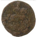 Денга 1767, медь — Екатерина II, фото 1