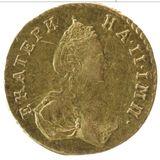 Полтина 1777, золото (Au 917) — Екатерина II, фото 1