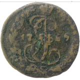 Денга 1769, медь — Екатерина II, фото 1