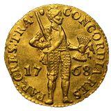 Дукат 1768, золото (Au 979) — Екатерина II, фото 1