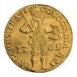 Дукат 1769, золото (Au 979) — Екатерина II, фото 1