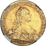 10 рублей 1774, золото (Au 917) — Екатерина II, фото 1