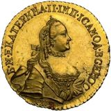 5 рублей 1777, золото (Au 917) — Екатерина II, фото 1