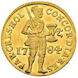 Дукат 1784, золото (Au 979) — Екатерина II, фото 1