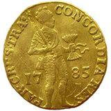 Дукат 1785, золото (Au 979) — Екатерина II, фото 1