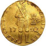 Дукат 1792, золото (Au 979) — Екатерина II, фото 1