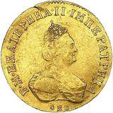 Червонец 1796, золото (Au 978) — Екатерина II, фото 1