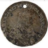 1 рубль 1749, серебро (Ag 802) — Елизавета Петровна, фото 1