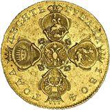 10 рублей 1804, золото (Au 986) — Александр I, фото 1