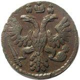Полушка 1735, медь — Анна Иоановна, фото 1