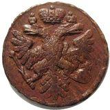 Денга 1739, медь — Анна Иоановна, фото 1