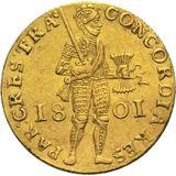 Дукат 1801, золото (Au 979) — Александр I, фото 1