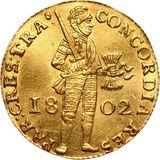 Дукат 1802, золото (Au 979) — Александр I, фото 1