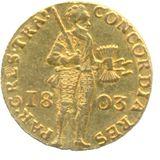 Дукат 1803, золото (Au 979) — Александр I, фото 1