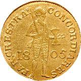 Дукат 1805, золото (Au 979) — Александр I, фото 1