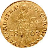 Дукат 1807, золото (Au 979) — Александр I, фото 1