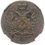 1 грош 1819, медь — Александр I, фото 1
