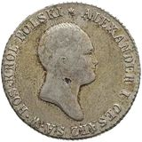 2 злотых 1820, серебро (Ag 593) — Александр I, фото 1