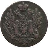 1 грош 1824, медь — Александр I, фото 1