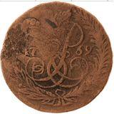 2 копейки 1759, медь — Елизавета Петровна, фото 1