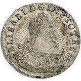 6 грошей 1759, серебро (Ag 306) — Елизавета Петровна, фото 1
