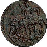 Полушка 1759, медь — Елизавета Петровна, фото 1