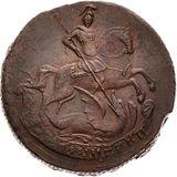 2 копейки 1760, медь — Елизавета Петровна, фото 1