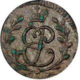 Солид 1760, серебро (Ag 63) — Елизавета Петровна, фото 1